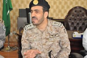 العميد طيار صالح سعيد الغامدي قائد ميناء رأس مشعاب
