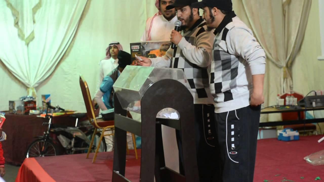 حمودي وصلوحي يوزعون الجوائز في ملتقى شباب الخفجي الثاني 1435هـ