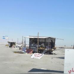 بلدية الخفجي تصادر 280 كلجم عسل و 22 صندوق تمور و 165 علب غذائية منوعة خلال حملة على الباعة الجائلين