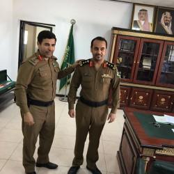 ترقية مساعد مدير مرور محافظة الخفجي ظافر الشهري لرتبة عقيد