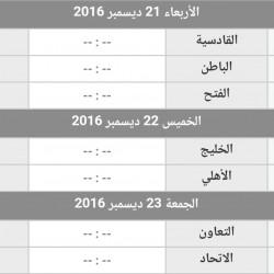 انطلاق الدور الثاني من الدوري السعودي لكرة القدم اليوم بثلاث مواجهات