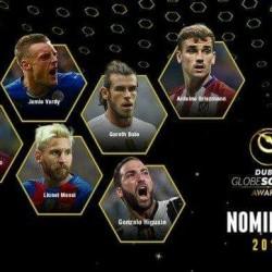 إعلان الفائزين بجوائز جلوب سوكر لعام 2016