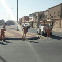بلدية الخفجي تكثف أعمال النظافة في المحافظة