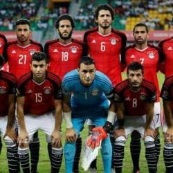 مصر تفوز على المغرب  بهدف كهربا
