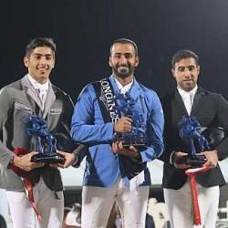 الفارس عبدالرحمن الراجحي يتأهل إلى نهائيات كأس العالم لقفز الحواجز