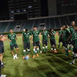 المنتخب السعودي الأول لكرة القدم يصل تايلند