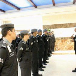 الغامدي يدشن الزي الرسمي للمركز الوطني للعلميات الأمنية