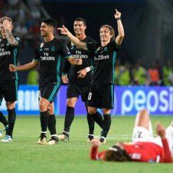 الريال يتوج ببطولة السوبر الأوروبي على حساب مانشستر يونايتد