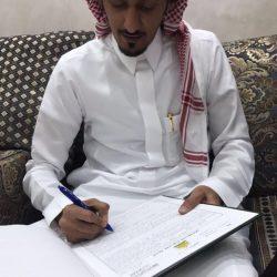 محمد بن سليمان القحطاني  يعقد قرانه