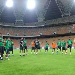 الأخضر السعودي يواجهه جامايكا إستعدادا للمونديال