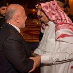 خادم الحرمين الشريفين يستقبل دولة رئيس وزراء جمهورية العراق