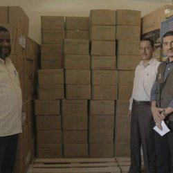 مركز الملك سلمان للإغاثة يقدم 12 طنًا من المساعدات الطبية لشبوة ووادي حضرموت لمكافحة حمى الضنك