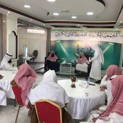 الشيخ الدكتور / عمر العيد في زيارة قارئ الخفجي