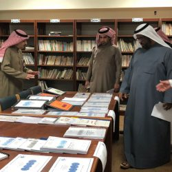 الخالدي يقيم ندوة تربوية مع بعض قادة المدارس بالخفجي