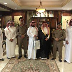 الهزاع يستقبل مدير فرع الهيئة السعودية  للمهندسين بالشرقية