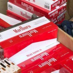 """جمرك #الخفجي يحبط 3 محاولات لتهريب أكثر من 80 ألف """"سيجارة دخان"""""""