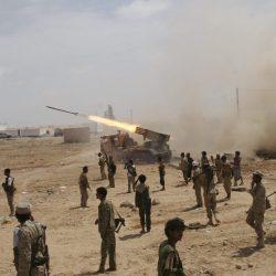 الجيش اليمني يهاجم مواقع عسكرية للميليشيا الانقلابية في أطراف منطقة قانية
