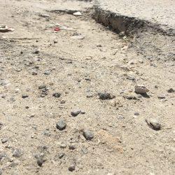 شوارع حي الملك فهد بالخفجي تسبب معاناه لساكني الحي