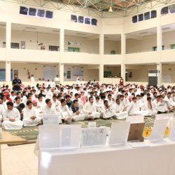 سمو وزير الداخلية يرعى حفل تخريج (4682) خريجاً من دورات حرس الحدود