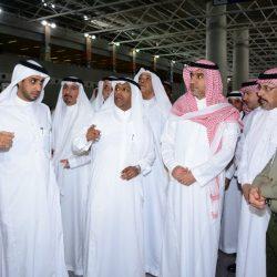 منسوبي لواء الملك عبدالعزيز الآلي يودعون اللواء القحطاني وعدد من الضباط المتقاعدين