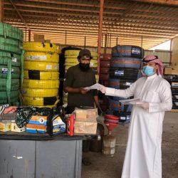 بلدية الخفجي: أكثر من 154 ألف لتر كمية محلول التطهير لتعقيم المواقع في المحافظة والمركز التابعة لها خلال أسبوع