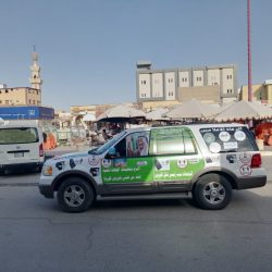 بلدية #الخفجي تضبط حظيرة أغنام تقوم عليها عمالة بالذبح وسلخ الأغنام بطريقة عشوائية