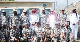 تحتفل جوازات محافظة الخفجي بتوديع أحد زملائها