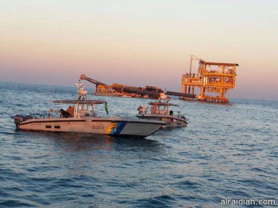"""العثور على جثتي المفقودين في حادثة غرق """"المنصة البحرية"""""""