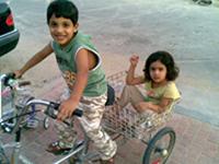 شرطة القصيم تعلن العثور على الطفلين القطريين جاسم وريم