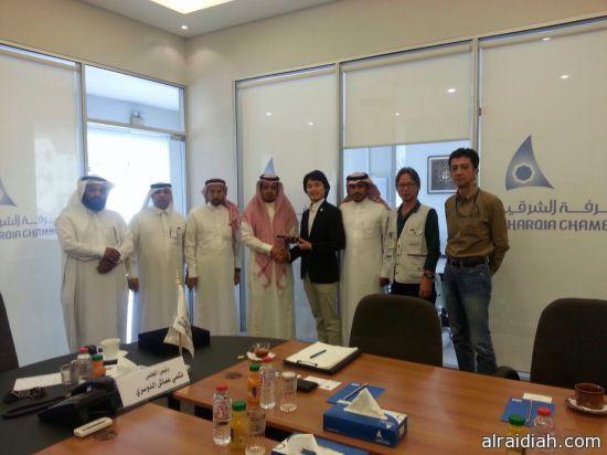 مدير عام دعم الأعمال الياباني بزيارة لمحافظة الخفجي