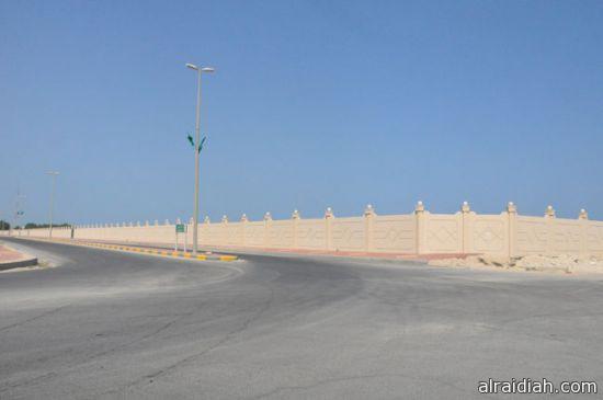 خبر مفرح  لاهالي محافظة الخفجي عن أزالة جدار أحدى الاراضي