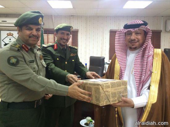 أدارة جوازات محافظة الخفجي تحتفل بيوم الوطن