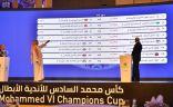 مواجهات قوية في دور الـ16 لكأس محمد السادس للأندية الأبطال