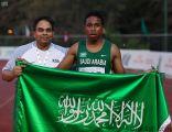 العداء علي الماس يحقق ذهبية سباق 100 في بطولة غرب آسيا للناشئين