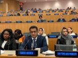 المملكة تستعرض جهودها في تحقيق أهداف التنمية المستدامة وتعاونها مع الأمم المتحدة وشركائها الدوليين محليًا وإقليميًا ودوليًا
