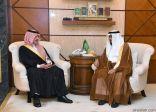 أمير المنطقة الشرقية يستقبل رئيس اللجنة التشغيلية لعمليات الخفجي المشتركة