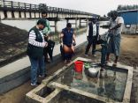 فريق مركز الملك سلمان للإغاثة يتفقد مشاريعه الإنسانية المنفذة للاجئين الروهينجا في بنجلاديش