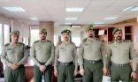البقمي يقلد عدد من ضباط جوازات منفذ الخفجي رتبهم الجديدة