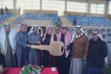 عفيفي يحصد سيارة دعم شركة أرامكو لأعمال الخليج من ميدان فروسية الخفجي