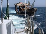 حرس الحدود بقطاع الخفجي ينقذ مواطنًا كويتيًا تعطل قاربه في المياه الإقليمية السعودية