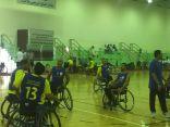 اختتام بطولة الدوري الممتاز لكرة السله على الكراسي المتحركة للاعاقة الحركية