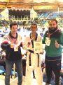 لاعب أخضر التايكوندو الظافري  يحصد  البرونزية الدولية