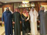 محافظ الخفجي يستقبل رئيس وأعضاء مجلس إدارة نادي العلمين