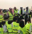 محافظ الخفجي يطلق حملة برنامج إماطة بمشاركة البلدية وفريق الخفجي التطوعي والمجلس البلدي