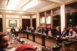 """السفير """" آل جابر """" يلتقي شخصيات سياسية ودبلوماسية وإعلامية في لندن"""