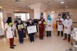 35 مشارك في فعاليات التوعية بسلامة المرضى بتخصصي الدمام