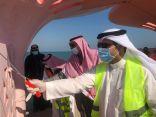 محافظ الخفجي يدشن مبادرة ( ألوان وأشكال ) بالواجهة البحرية