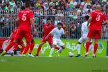 المنتخب السعودي يتعادل سلبياً مع المنتخب الفلسطيني