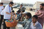 تطوعي الرائدية يشارك الجالية الباكستانية فرحتهم في الخفجي