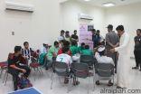 البرنامج الرياضي للشباب بالخفجي يواصل فعالياته لليوم الثاني
